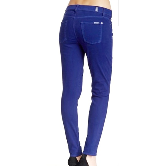 7 For All Mankind Denim - 7 For All Mankind The Ankle Skinny Jean